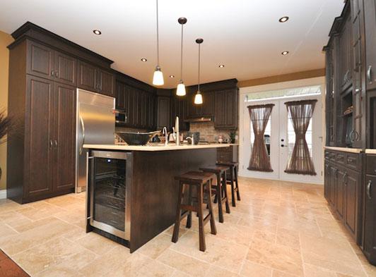 Les cuisines joannis pour des armoires de cuisine faites for Armoire de cuisine gatineau