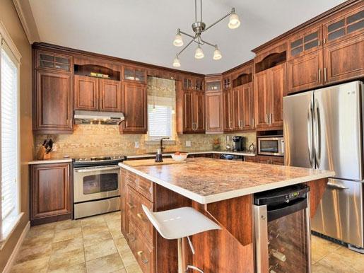 Les cuisines joannis pour des armoires de cuisine faites sur mesure gatineau en outaouais - Teindre armoire de cuisine ...